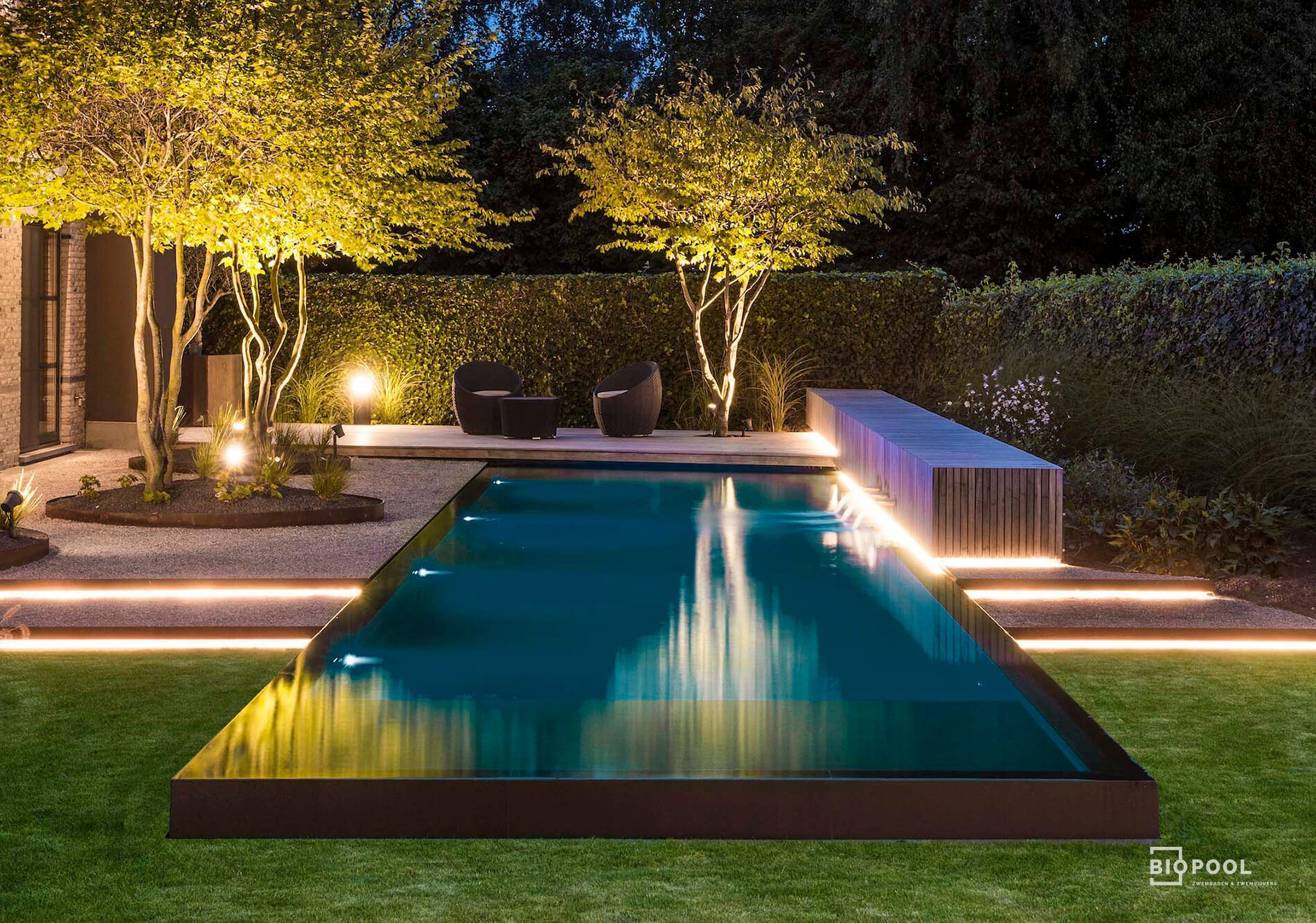 Afbeelding project PPC | Infinity overloopzwembad | regio Kortrijk