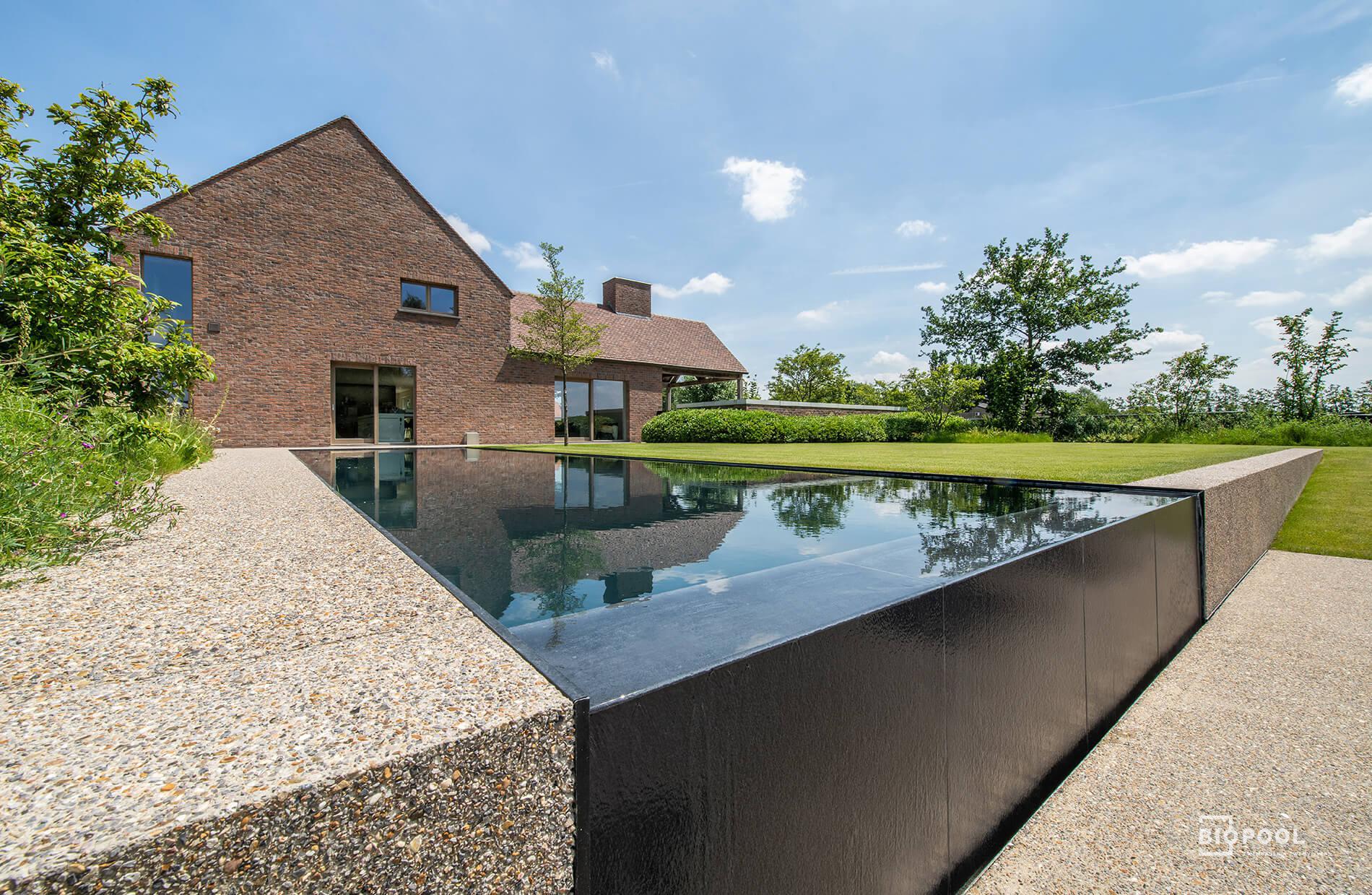 Afbeelding project Top Line | hybride zwembad | met kopse Infinity