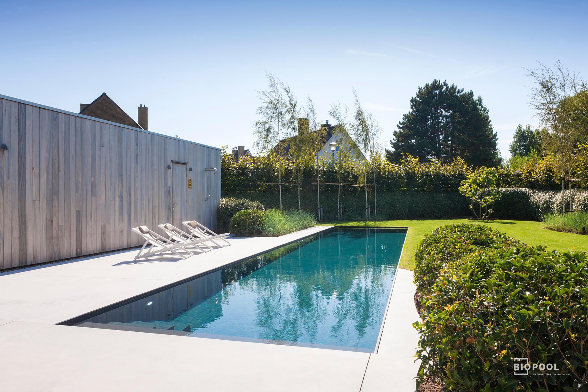 Afbeelding project PPC | Top Line | Gras & beton rand zwembad | Koksijde
