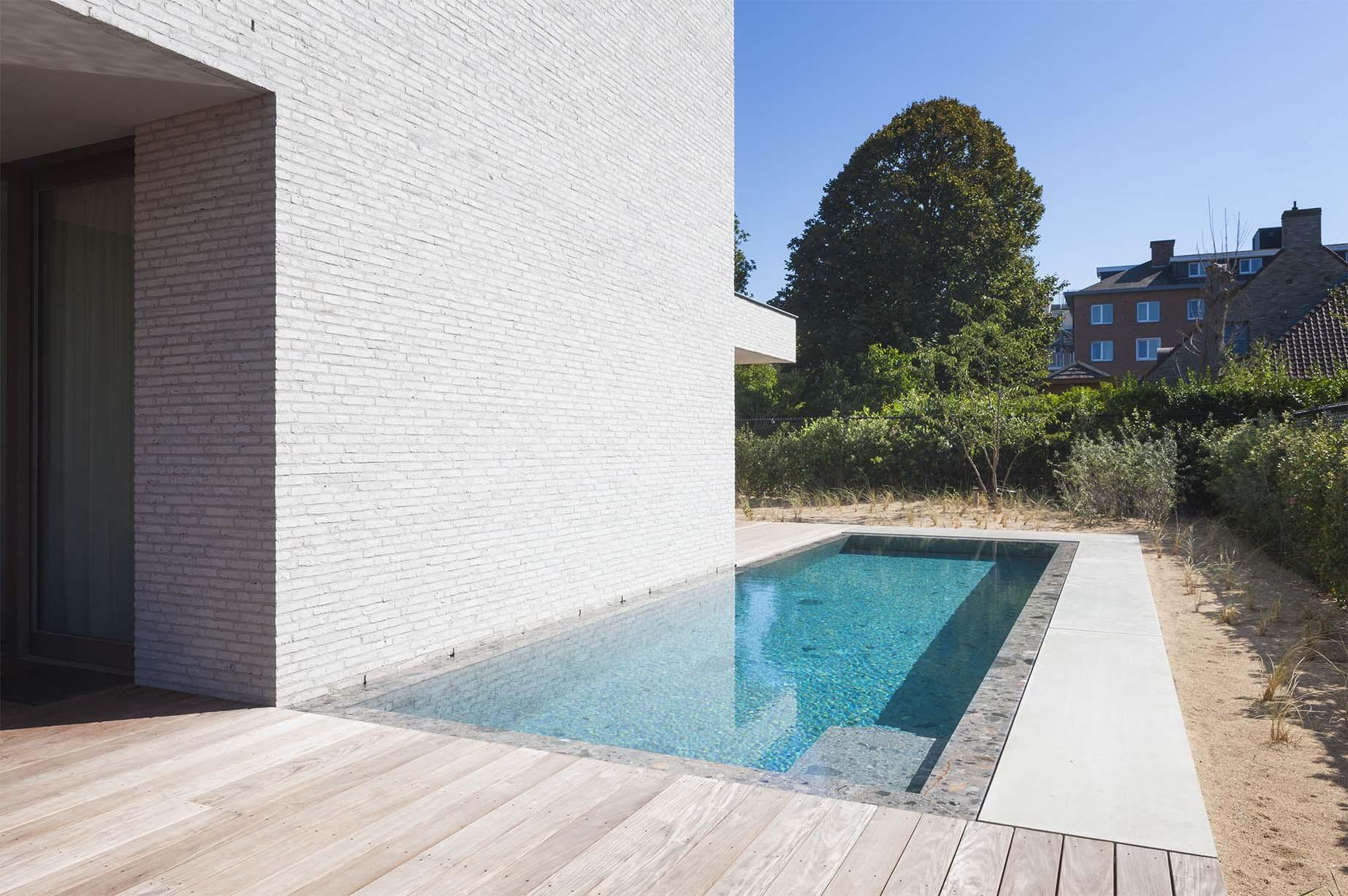 Afbeelding project Bouwkundig | Riverstone Pool | Tegelzwembad | tegenstroom | Koksijde