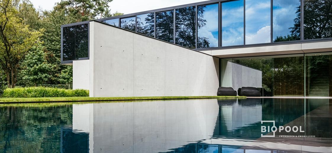 Afbeelding project Bouwkundig overloopzwembad | Govaert & Vanhoutte | XXXl tegels