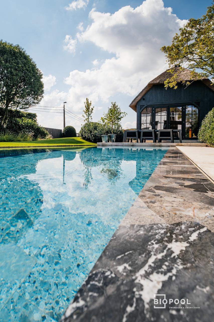 Afbeelding project Bouwkundig overloopzwembad    Riverstonepool   Oscar-V
