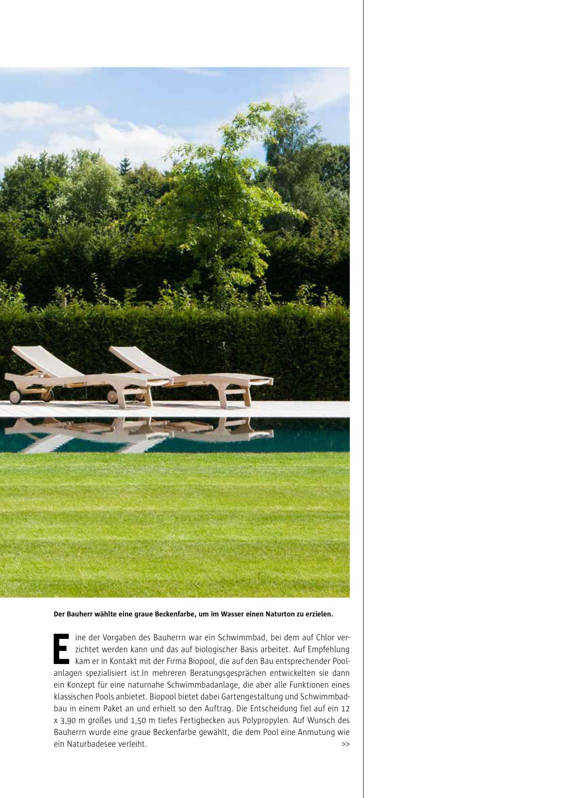 Afbeelding nieuwsitem Reportage Spa & Home – PPc overloop zwembad bij landhuis