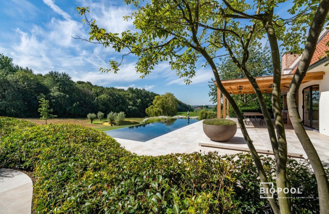Afbeelding project Stone pool| Océan dark | infinty | landscape view