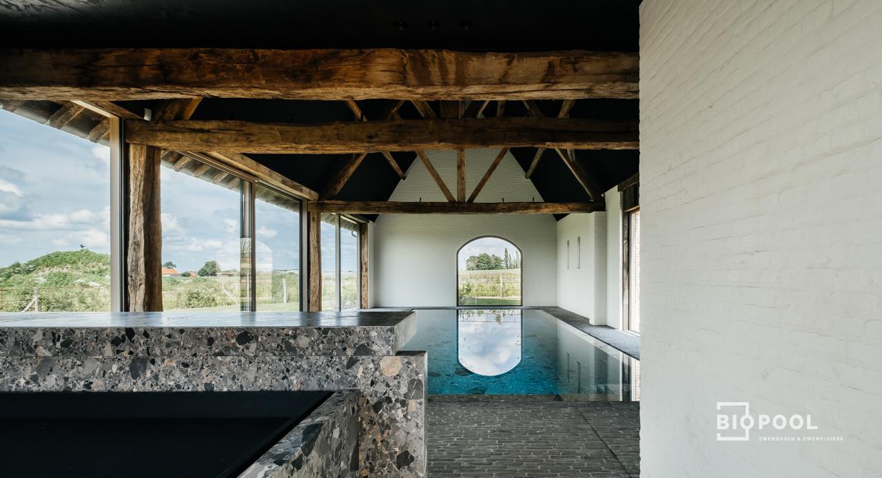 Afbeelding project Binnenzwembad | Stonepool | Schuur | High End