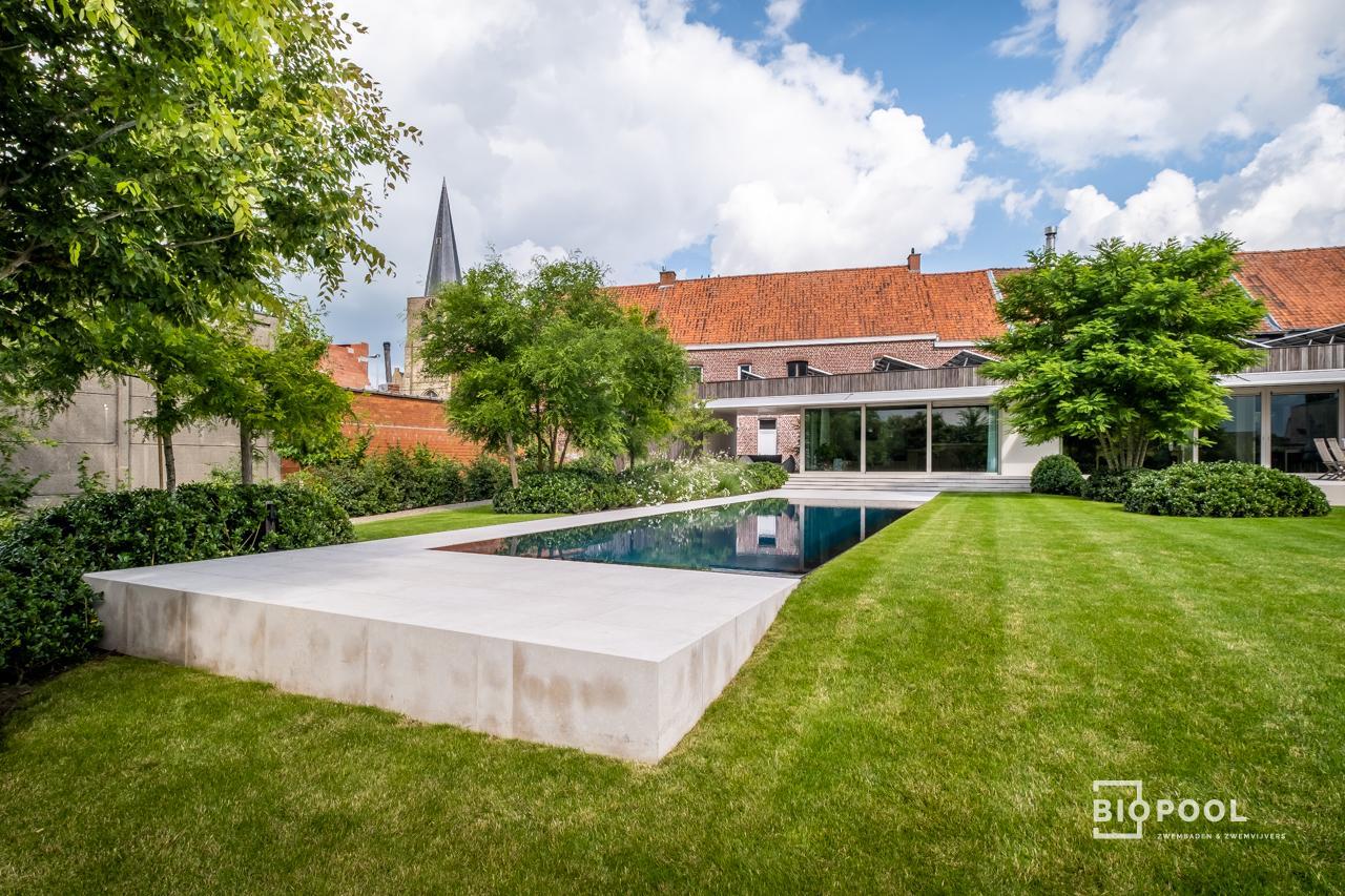 Afbeelding project PPc | Spiegel overloop zwembad